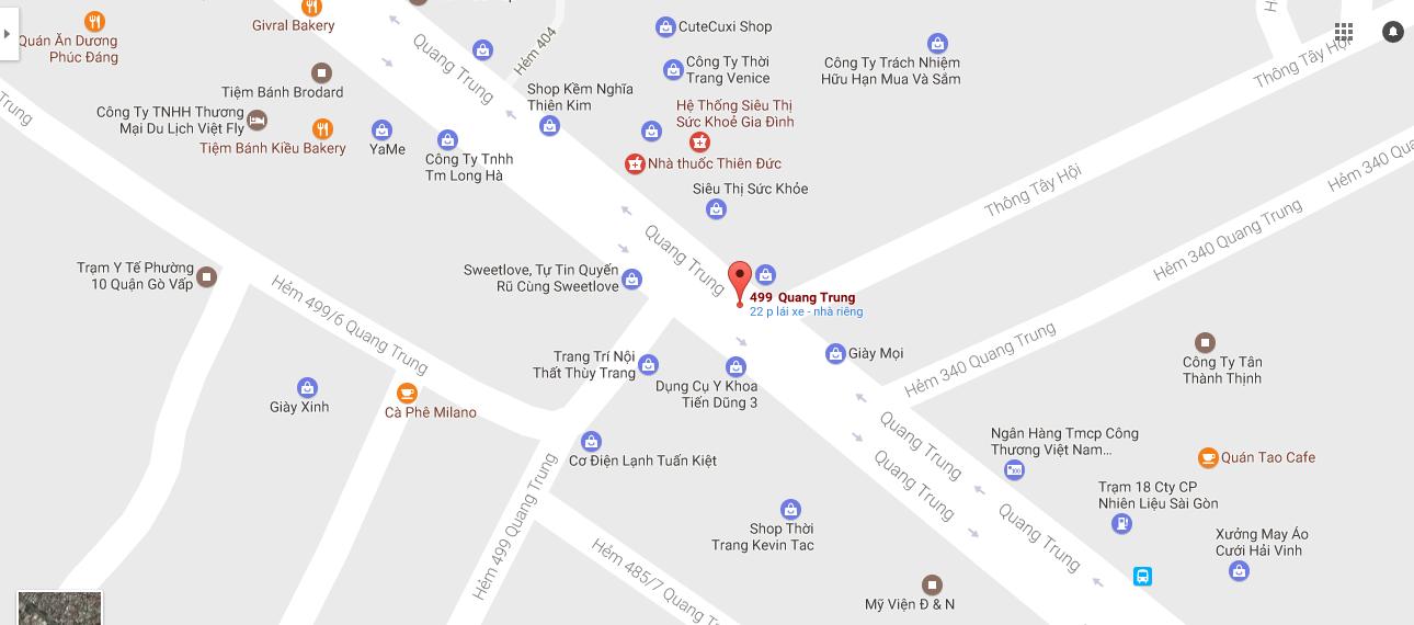 Tăng cường địa điểm đổi tiền mới 2017 tại Quang Trung, Gò Vấp